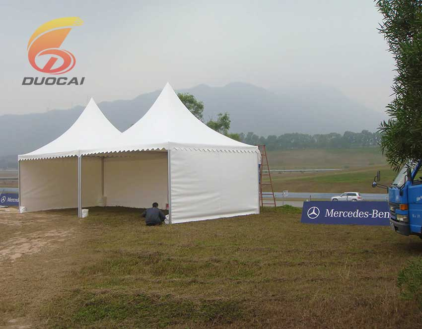 Banquet outdoor PVC Tent with sidewalls wholesale