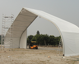 2.25M TFS Curved Tent