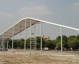 25M Clear Span Dome Tent