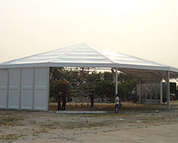 25M Clear Span Heptagon Tent