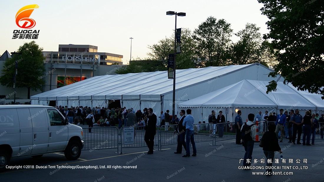 borshems reception tent