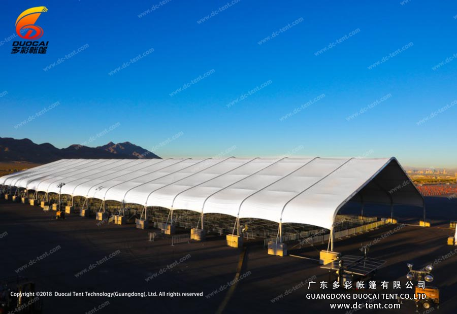 industrial warehouse tent