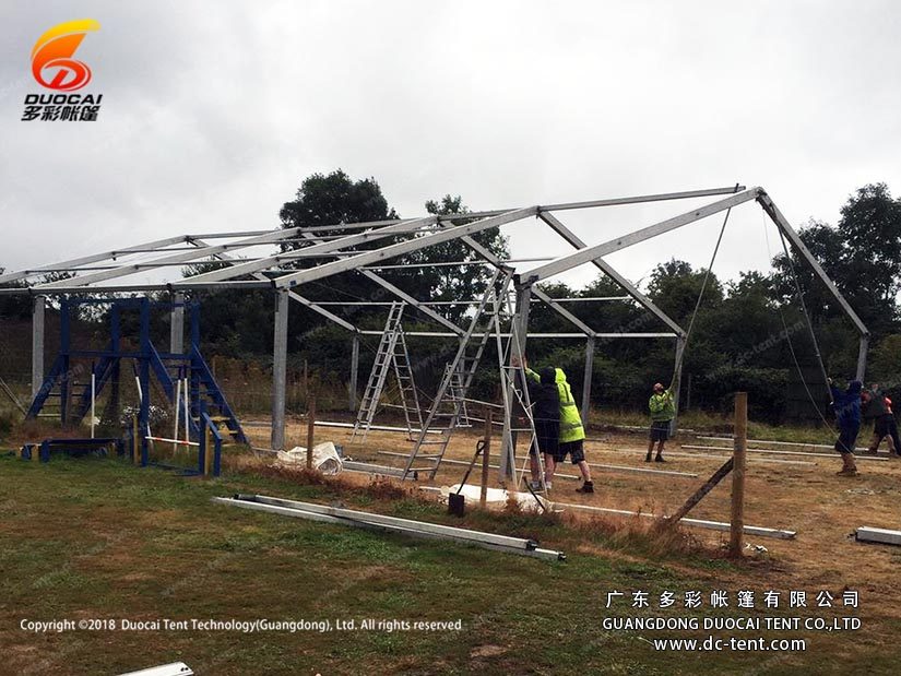 big structure frame tent