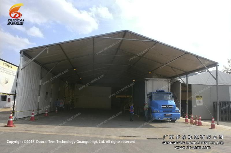 aluminum alloy warehouse tents