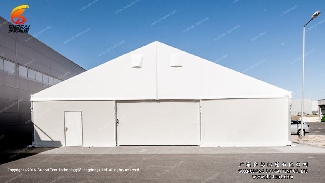 factory tent