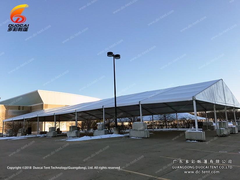 diy outdoor warehouse tent