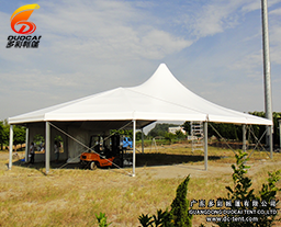 Multi-Side Wedding Tent with Lining
