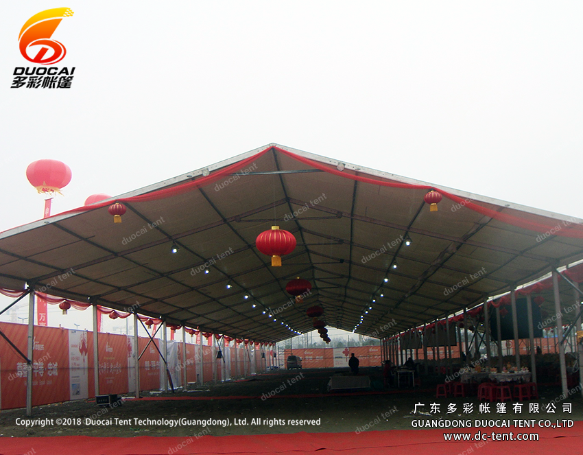 15x100M white PVC event tent for celebration