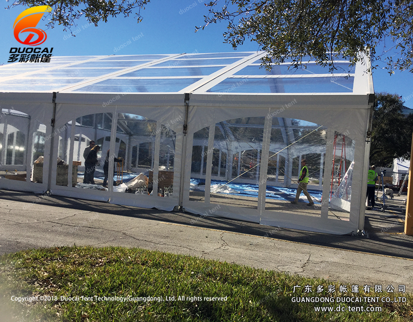 Transparent tent for big dinning party from Chinese tent supplier