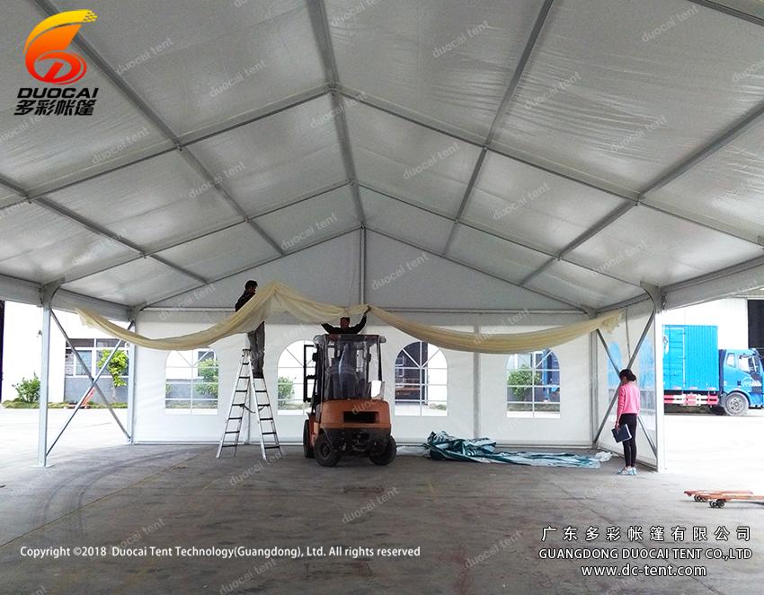 Wedding party aluminium tent manufactory from China