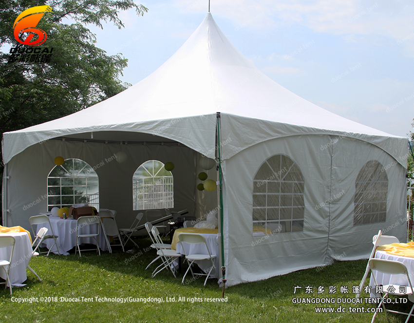 American pole tent with sidewalls for sale