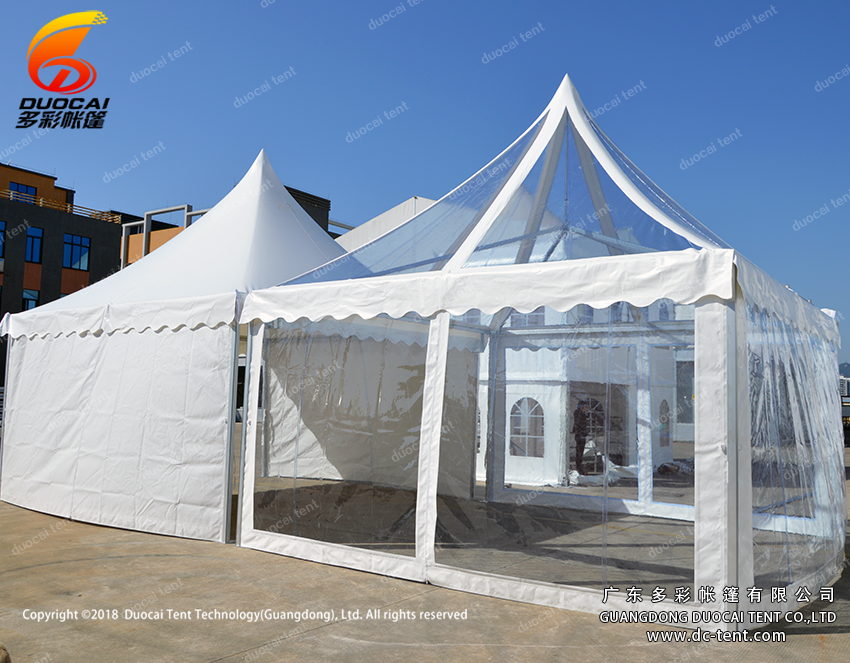 Waterproof pagoda tent solution for wholesale