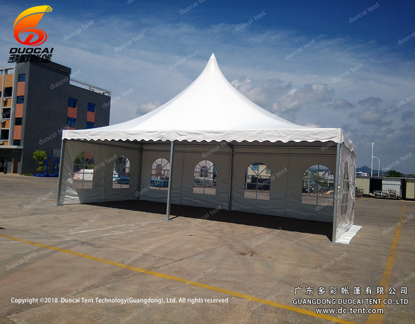 Aluminium pagoda big tent with PVC waterroof from china manufacturer