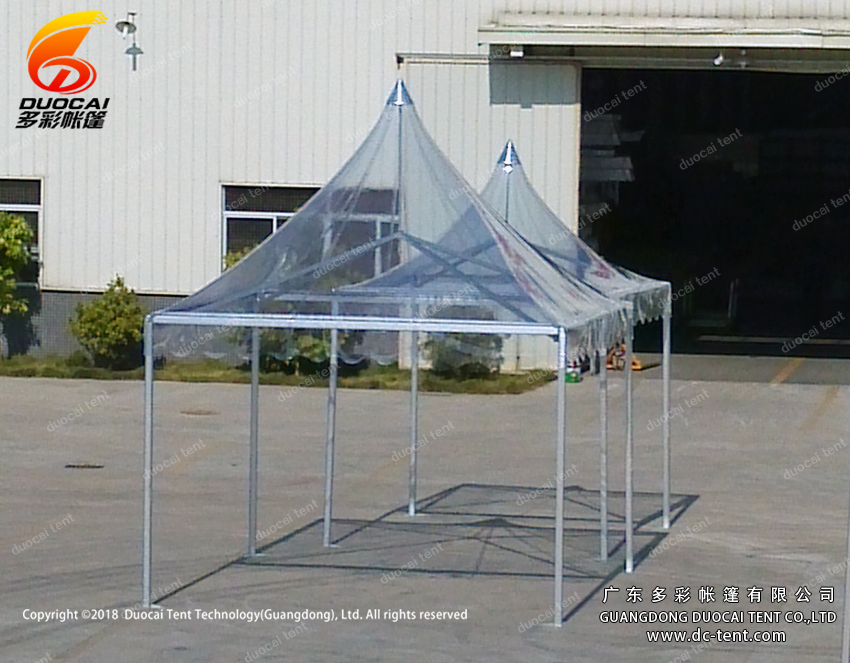 clear top PVC pagoda marquee tent supplier  made in China
