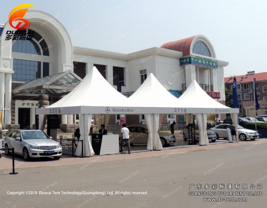 Aluminium pagoda marquee tent supplier