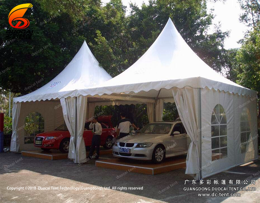 Duocai PVC pagoda canopy tents factory for promotion