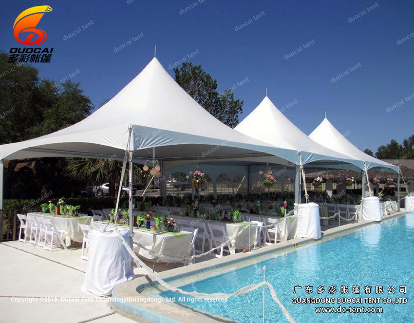 Hajj reception pagoda tents for sale