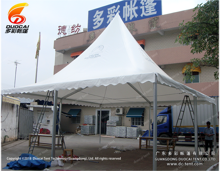 Modular pagoda tent system for sale