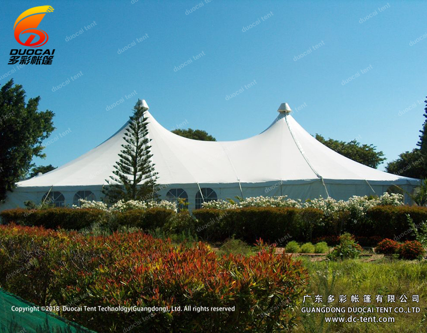 1000 people Clear span white pvc big tent onsale