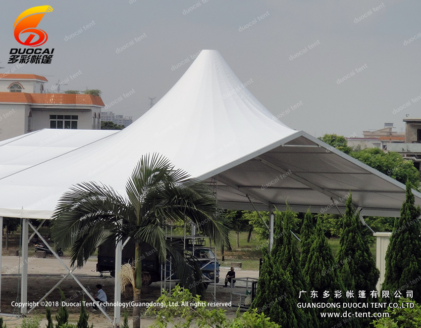 Mixed big PVC tent from China