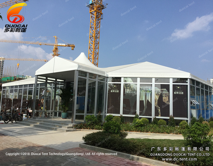 Aluminium big tent from China