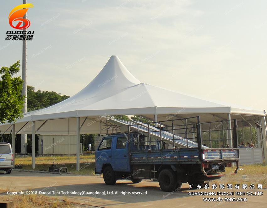 Aluminium canopy supplier