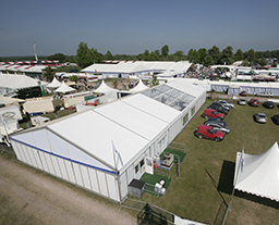 European food festival of PVC outdoor tent