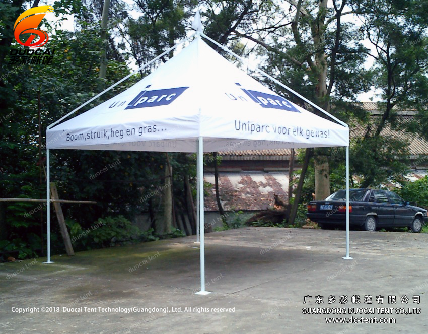 3x3M Clear PVC roof pagoda tent