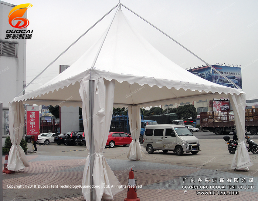 5x5M Gazebo tent with clear windows for sale