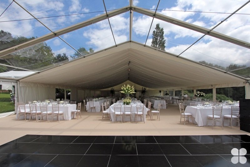 30m length reception tent for company's banquet