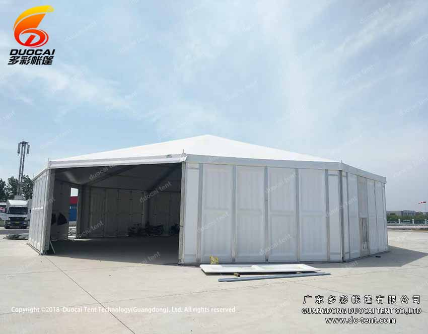 Polygon canopy tent factory from china