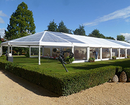 10X25m white commercial event tents for celebration and business affair