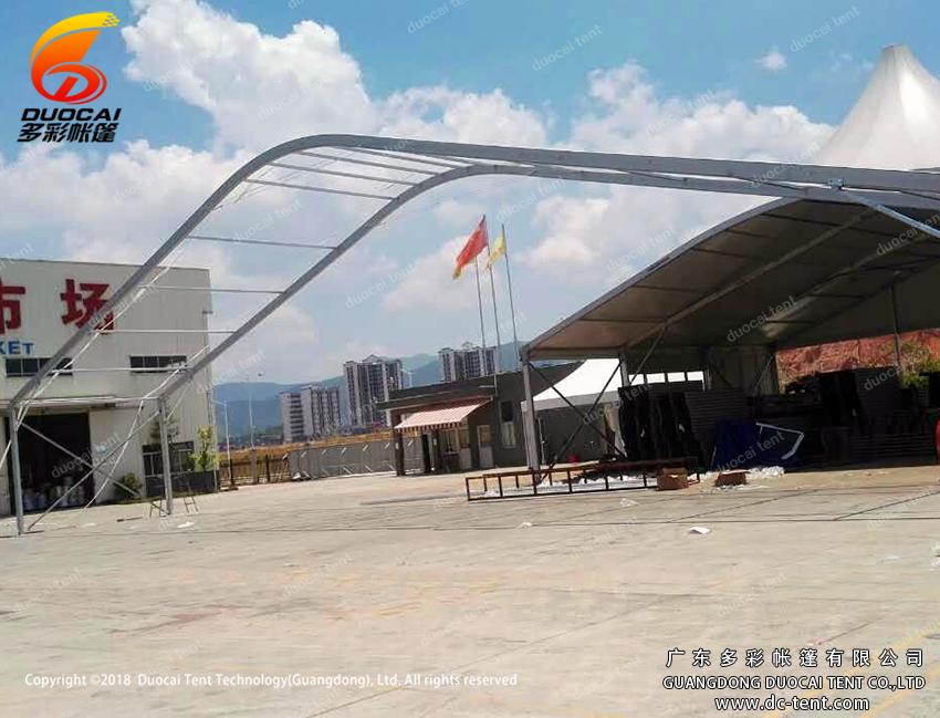 30M clear span arcum transparent tent wholesale