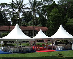 Multi side reception tent for party and ceremony