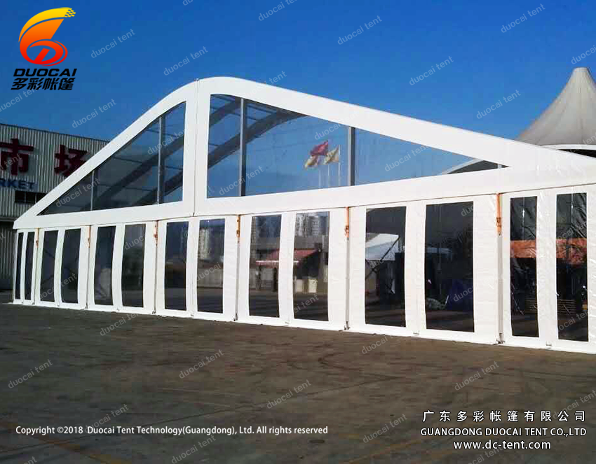 30M clear span arcum transparent tent wholesale