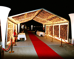Aluminum PVC clear span structure tent for annual celebration