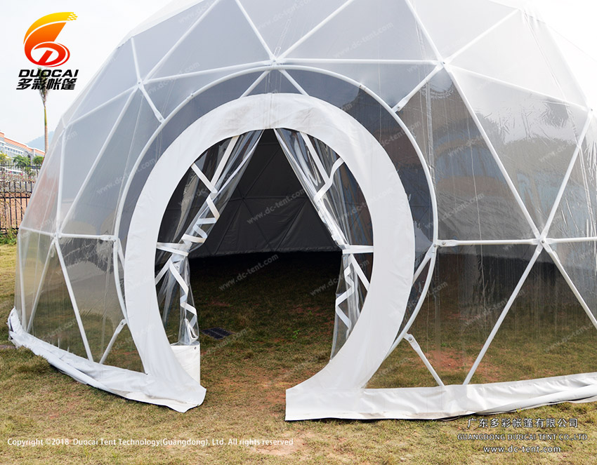 White PVC Dome tent for sale