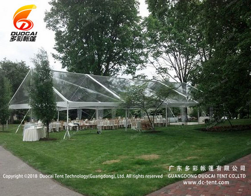 Clear PVC roof big tent supplier from china