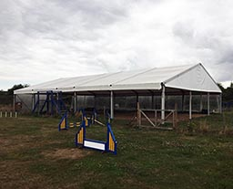 Industry tent of 15m x 23m equipment