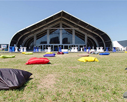 In recent years, DC tent company provided sport event tents for the large domestic sport activities. For 2016 Guangdong Open Sport, following the 2015 Guangdong