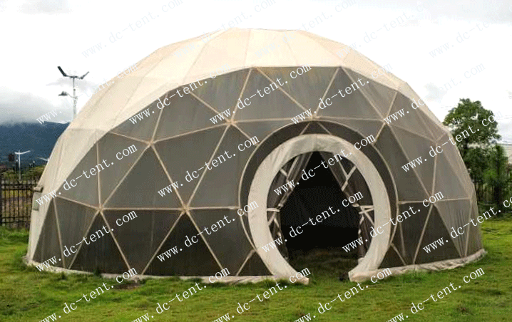 DC tent company can create high quality spherical tents for you, there is always one for you.