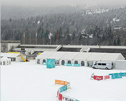 Sport tent for rink of skating