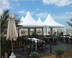 Pagoda tent with high peak and Gazebo tent for sale