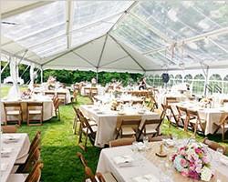 Hip gable end structure tent for celebration tent