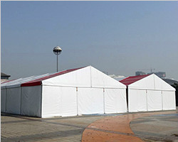 Food festival, exhibition hall tent