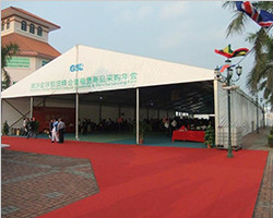 Trade fair marquee for Global rental Industry