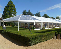 10X25m white commercial event tents