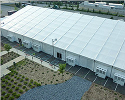 40m x 90m store house tent with full PVC fabric