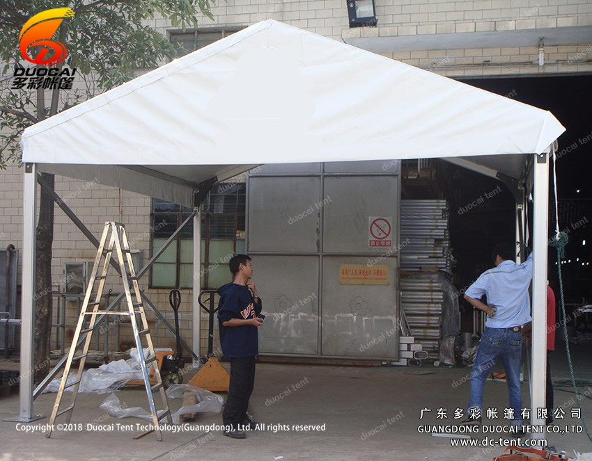 5M clear span Small tent for temporary sales