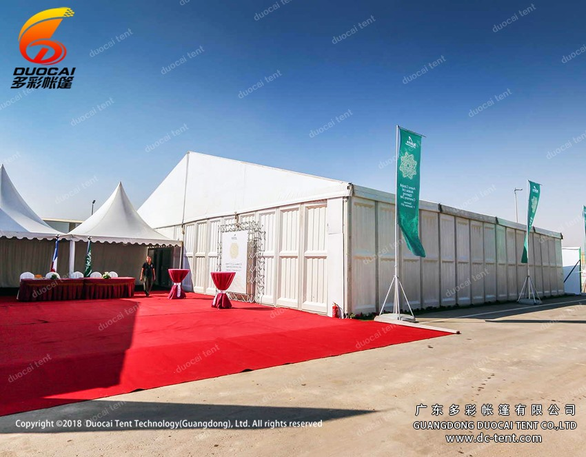 Canton fair structure tent manufacture from China